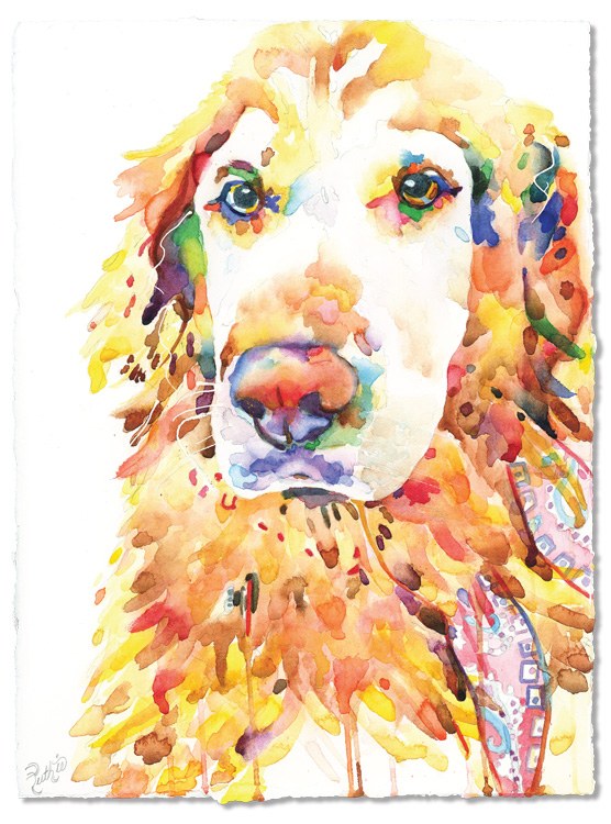 Golden Retriever16x20